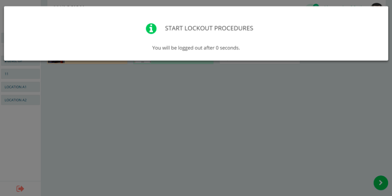 Start lockout- smart lock safety and compliance application